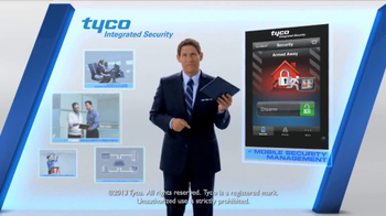 Tyco Integrated Security TV Spot, 'Talk Security' Featuring Steve Young - Thumbnail 9