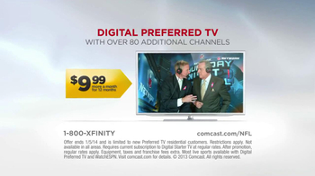 XFINITY TV Spot, 'NFl Network: Football Starts Thursday' - Thumbnail 10
