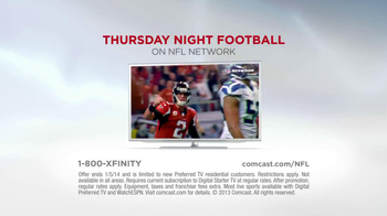 XFINITY TV Spot, 'NFl Network: Football Starts Thursday' - Thumbnail 9