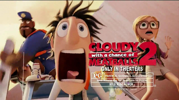 Trix Yogurt TV Spot, 'Cloudy with a Chance of Meatballs 2' - Thumbnail 10