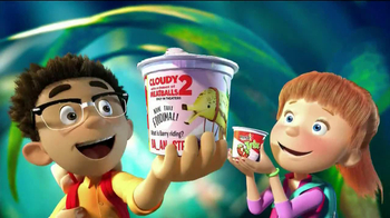Trix Yogurt TV Spot, 'Cloudy with a Chance of Meatballs 2' - Thumbnail 2