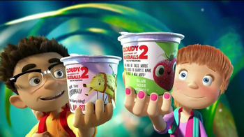 Trix Yogurt TV Spot, 'Cloudy with a Chance of Meatballs 2' - Thumbnail 3