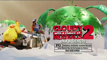 Trix Yogurt TV Spot, 'Cloudy with a Chance of Meatballs 2' - Thumbnail 9