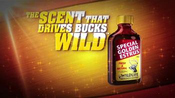 Wildlife Research Center Special Golden Estrus TV Spot, 'Drives Bucks Wild' - Thumbnail 4