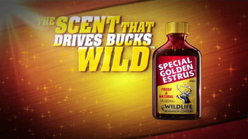 Wildlife Research Center Special Golden Estrus TV Spot, 'Drives Bucks Wild' - Thumbnail 5