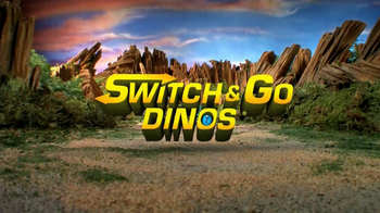 Switch and Go Dinos TV Spot, 'Dino Roar' - Thumbnail 1