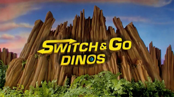 Switch and Go Dinos TV Spot, 'Dino Roar' - Thumbnail 10