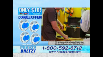 Freezy Breezy TV Spot - 2 commercial airings