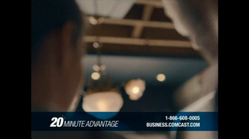 Comcast Business 20 Minute Advantage TV Spot, 'Idea to Life' - Thumbnail 6
