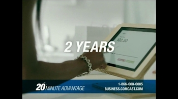 Comcast Business 20 Minute Advantage TV Spot, 'Idea to Life' - Thumbnail 7