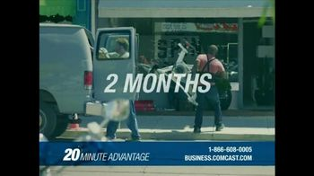 Comcast Business 20 Minute Advantage TV Spot, \'Idea to Life\'