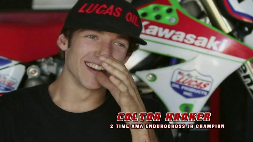 Lucas Oil TV Commercial, 'Trust' Feat. Colton Haaker