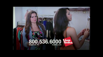 Live Links TV Spot, 'As Easy As Trying On Clothes' - Thumbnail 5