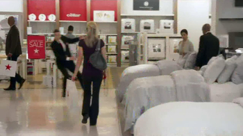 Macy's Labor Day Sale TV Spot, 'Needed in Bed & Bath' - Thumbnail 2