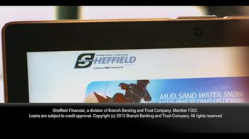 Sheffield Financial TV Spot - 74 commercial airings