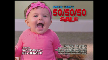 Empire Today 50/50/50 TV Spot, 'Babies' - Thumbnail 3
