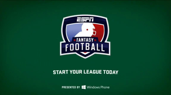 ESPN  Fantasy Football TV Spot, 'Police Commissioner: Matthew Berry' - Thumbnail 10