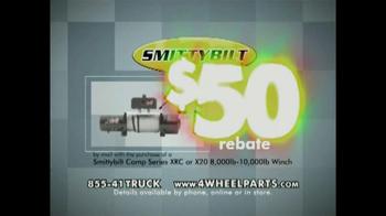 4 Wheel Parts TV Spot, 'SmittyBilt Rebate' - Thumbnail 5