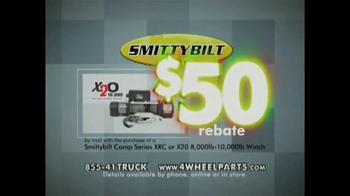 4 Wheel Parts TV Spot, 'SmittyBilt Rebate' - Thumbnail 6