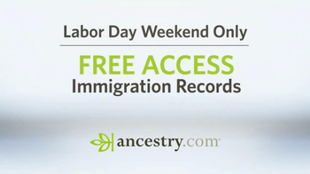 Ancestry.com TV Spot 'Labor Day' - Thumbnail 10