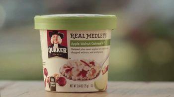 Quaker Real Medleys TV Spot