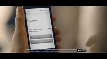 American Express Fraud Alert TV Spot, 'Too Comfortable' - Thumbnail 9