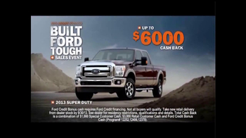 Ford Built Ford Tough Sales Event TV Spot, 'Quiz' - 516 commercial airings