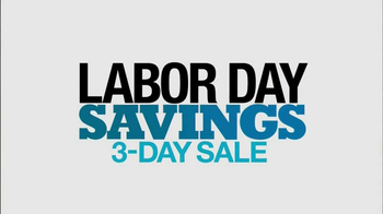 Kohl's Labor Day Savings 3 Day Sale TV Spot