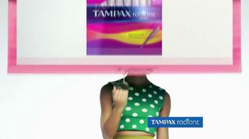 Tampax Radiant TV Spot, 'Style' Featuring Christina Caradona - Thumbnail 6