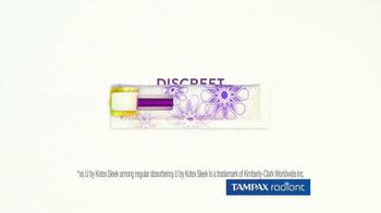 Tampax Radiant TV Spot, 'Style' Featuring Christina Caradona - Thumbnail 9