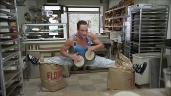Go Daddy TV Spot, 'The Baker' Featuring Jean-Claude Van Damme