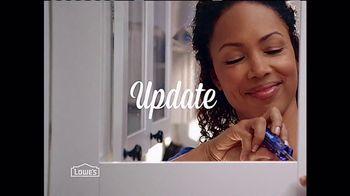 Lowe's TV Spot, 'Update'