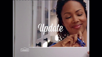 Lowe's TV Spot, 'Update' - 3451 commercial airings