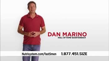 Nutrisystem Fast 5 TV Spot Featuring Dan Marino - Thumbnail 1