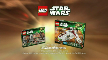 LEGO Star Wars Republic Gunship TV Spot