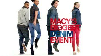 Macy's Biggest Denim Event TV Spot