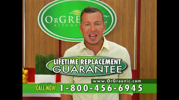 OrGreenic TV Spot Featuring Jason Roberts