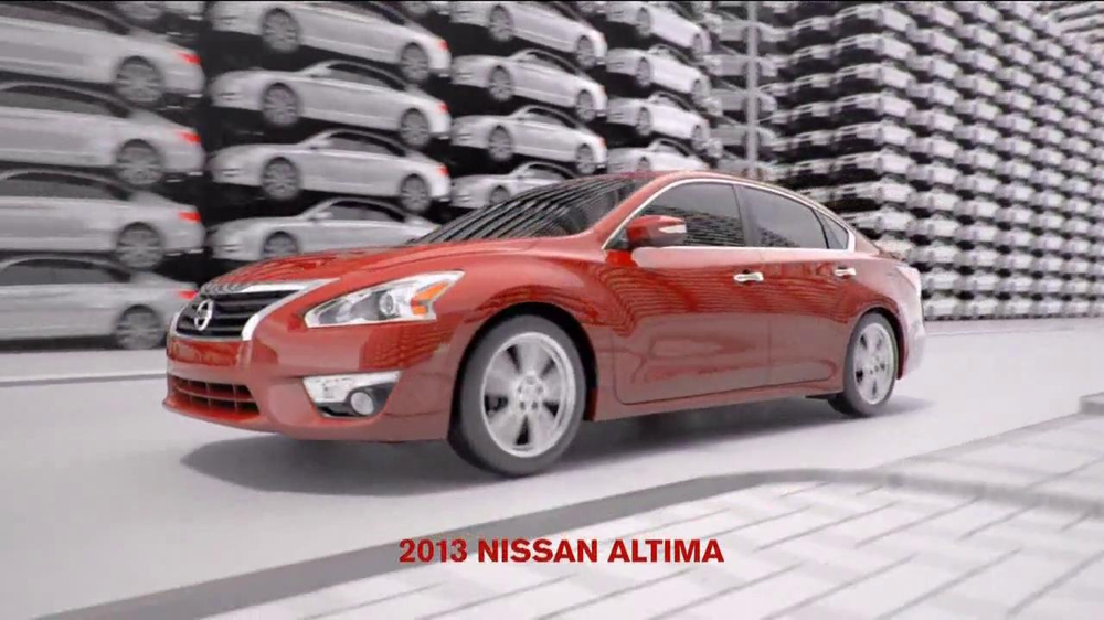 Nissan Altima TV Commercial, 'Safety Shield' - iSpot.tv