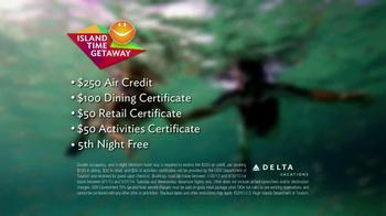 Delta Air Lines TV Spot, 'Island Time Getaway' - Thumbnail 9