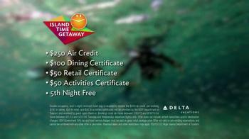 Delta Air Lines TV Spot, 'Island Time Getaway' - Thumbnail 7