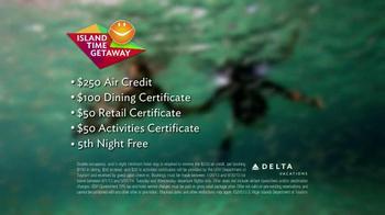 Delta Air Lines TV Spot, 'Island Time Getaway' - Thumbnail 8