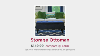 HomeGoods TV Spot, 'Storage Ottoman' - Thumbnail 10
