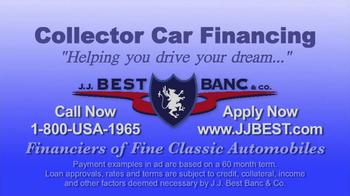 J.J. Best Bank & Co. TV Spot, 'Collector Car Financing' - Thumbnail 8