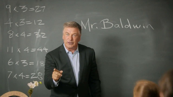 Capital One Venture TV Spot, 'Teacher' Featuring Alec Baldwin - 1580 commercial airings