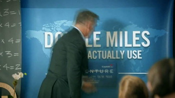 Capital One Venture TV Spot, 'Teacher' Featuring Alec Baldwin - Thumbnail 3