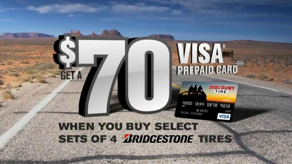 Discount Tire TV Commercial, 'Gift Card Offer' - iSpot.tv