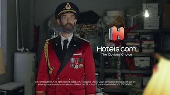 Hotels.com TV Spot, 'The Crazy Guy Trying to Redeem Hotel Points' - Thumbnail 9