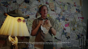 Hotels.com TV Spot, 'The Crazy Guy Trying to Redeem Hotel Points' - Thumbnail 5