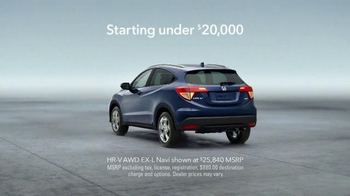 Honda HR-V Crossover TV Spot, 'Give and Take' - Thumbnail 9