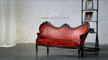 Ancestry.com Life Story TV Spot, 'Annie's Life' - Thumbnail 3